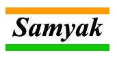 SAMYAK INSTRUMENTATION PVT.LTD Testimonial